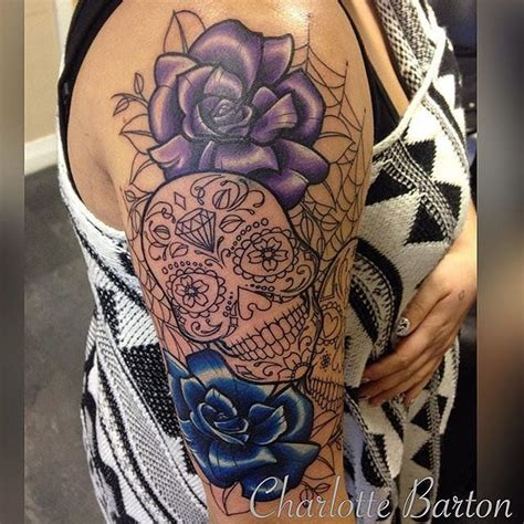 sugar skulls tattoos meaning 25 meaningful sugar skull tattoos you ll want to get