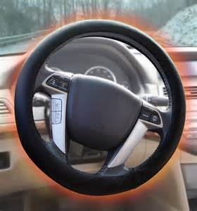 Steering Wheel Cover On Keep Your Warm This Winter With A Heated Steering