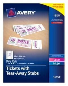 Avery Inkjet And Laser Embossed Medium Tent Cards 2 12 X 8 12 White Box Of 100 By Office Depot Office Depot Medium Tent Cards Template