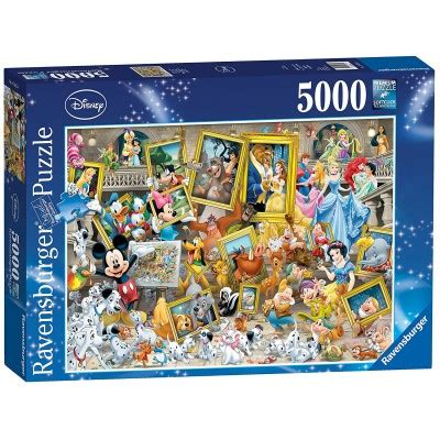 puzzle mickey  artist ravensburger   pieces