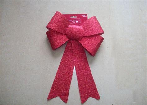Pl Metalic Wrapping Bunga Metallic Pvc Decoration Ribbon Bow Tie Wrapping Glitter Ribbon Bow