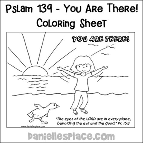 psalm 139 bible crafts and activities for sunday school