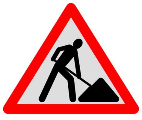 Baustellenschild Notwendig by Baustellenschild