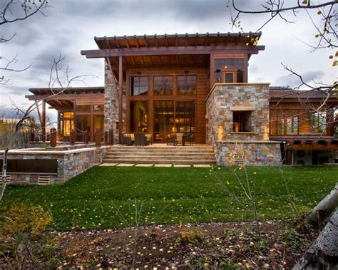 modern rustic home design ideas rustic stone house plans rustic exterior home designs