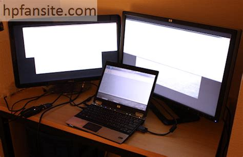 How To Dual Screeens From Mba To External Monitor by Hp Usb Graphics Adapter Review Hp Fansite