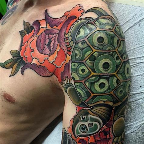 japanese turtle tattoo 85 best sea turtle designs meanings 2018