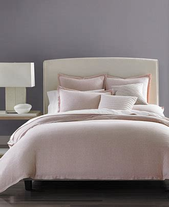 bed bath and beyond almaden macy s bed linens hotel collection rosequartz linen
