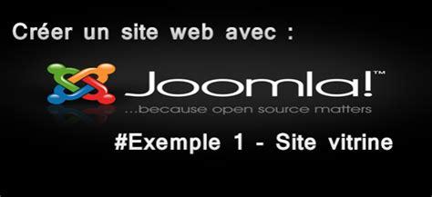 cr 233 er un site web avec joomla 2 5 exemple 1 site vitrine 192 lire