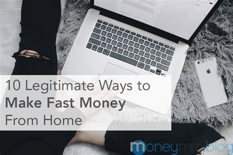 40 Legitimate Ways To Earn Money As A Stay At Home 10 Legitimate Ways To Make Fast Money From Home