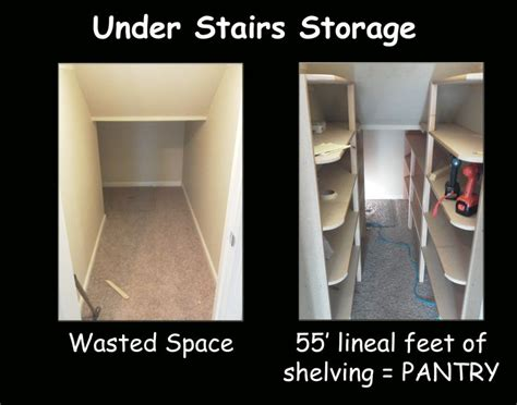 I Had Wasted Space In That Weird Under Stairs Closet So | i had wasted space in that weird under stairs closet so