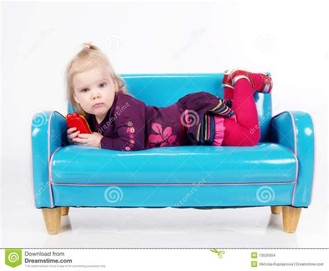 Lying On A Sofa by Lying On Sofa Stock Images Image 13525004