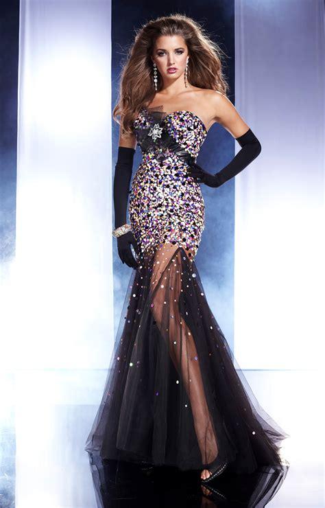 panoply  shine  night prom dress