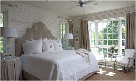 Lake Bedroom Decorating Ideas by White Lake House Honeysuckle