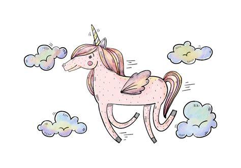 free vector free unicorn illustration free vector