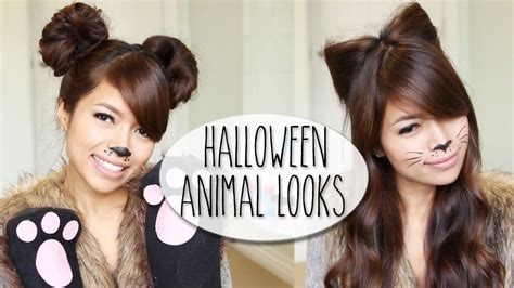 halloween hairstyles pinterest so easy diy halloween costume ideas bear cat ears