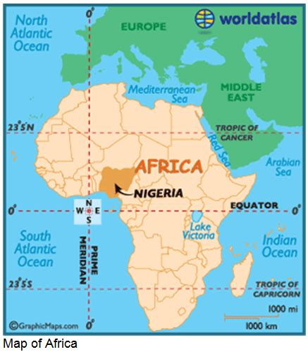 where is nigeria on a world map 301 moved permanently
