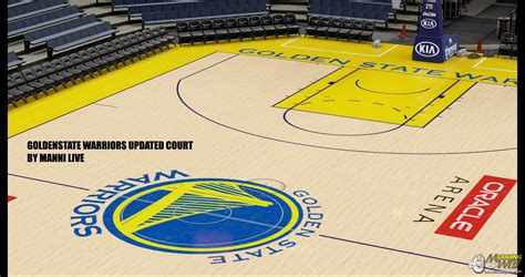 golden state warriors court update nba 2k16