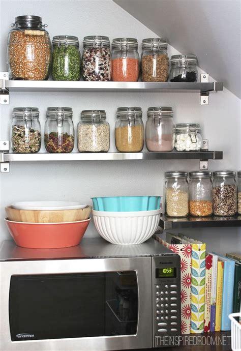 despensa creative kitchen pantry reveal jars creative and glasses