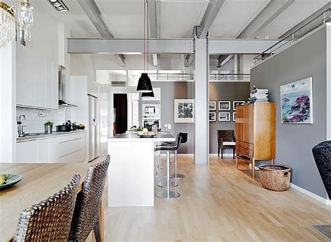 inspired apartment with industrial touches industrial style apartment on the sixth floor