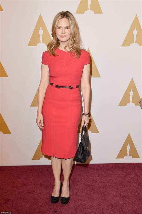 jennifer jason leigh early years oscars 2016 nominees gather at star studded academy awards
