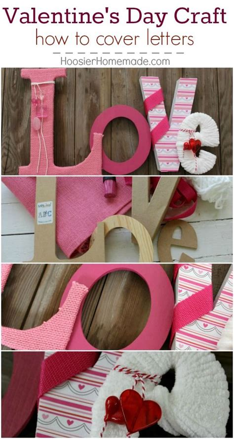 valentine s craft love letters a well valentine day