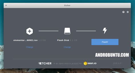 software membuat file iso terbaik cara membuat flashdisk installasi linux menggunakan etcher