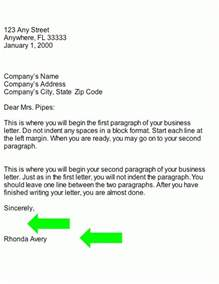 Best Complimentary Closing Business Letter Complimentary Closing Business Letter The Letter Sle