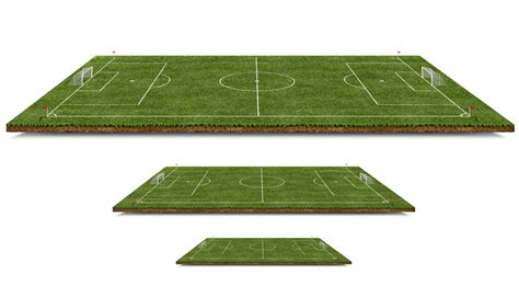 Kickers Psd 3d football pitch free psd file psd