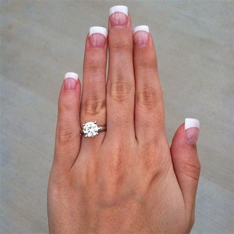 2 Carat Ring by My Beautiful Engagement Ring 2 Carat Solitaire On
