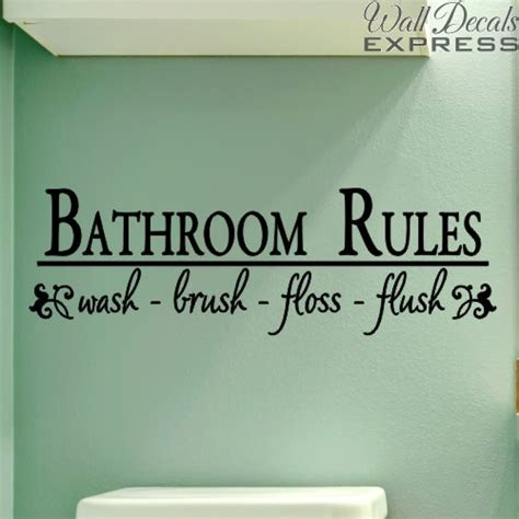 bathroom sayings for walls bathroom quotes wall decals quotesgram