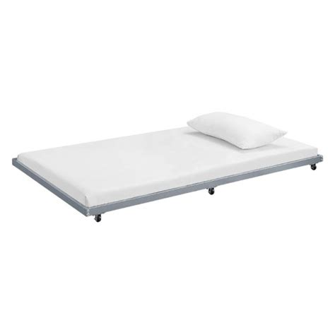 Roll Out Trundle Bed Frame Walker Edison Roll Out Trundle Bed Frame Jet