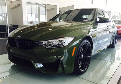 olive green bmw urban green bmw m3 looks menacing