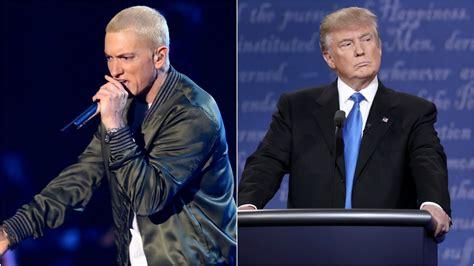 eminem vs trump new music eminem caign speech donald trump diss