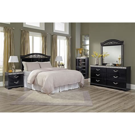 bedroom groups signature design by ashley constellations queen full