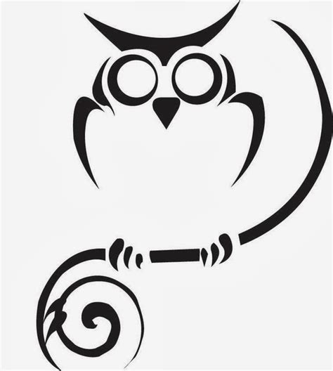 owl outline tattoo designs tattoos book 2510 free printable stencils owl