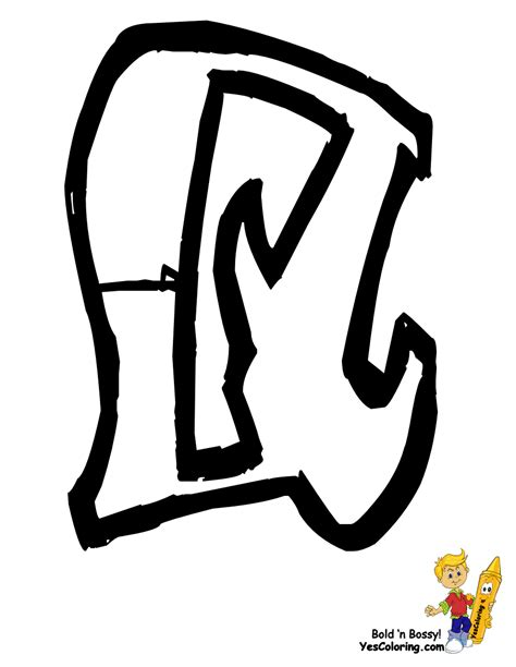 printable graffiti letters free coloring pages of graffiti k