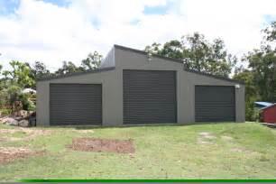 monopitch skillion roof garage fair dinkum sheds