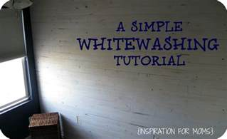 a simple whitewashing tutorial inspiration for moms