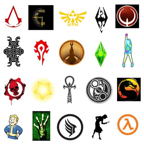 film symbols quiz can you name the video game symbols quiz by redleigh86