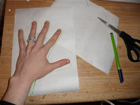How To Make Iron Gloves Out Of Paper - 187 how to make a plugsuit side tutorial skin tight gloves