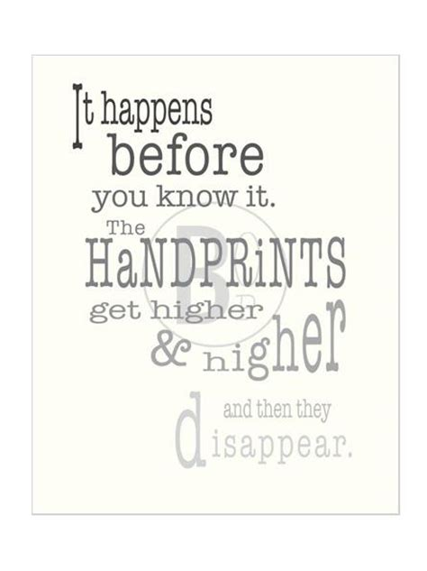 as knows it an exceptional child grows up books handprint capture their handprints keepsake poster