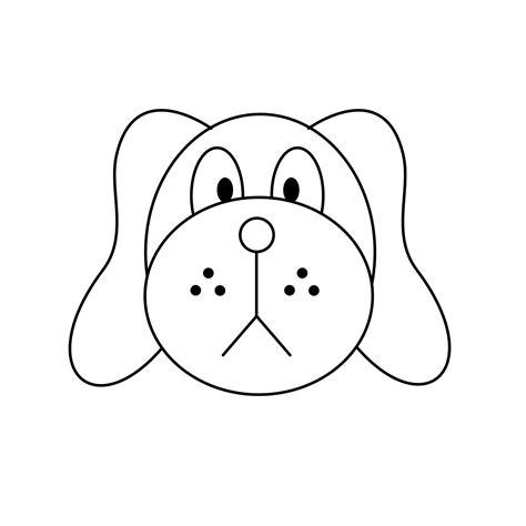 Comment dessiner une tête de chien: 15 étapes Easy Dog Face Drawing