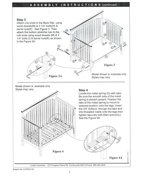 baby crib assembly some assembly required living in pursuit