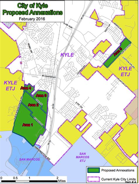 annexation of map faqs on kyle annexation march 2016 city of kyle