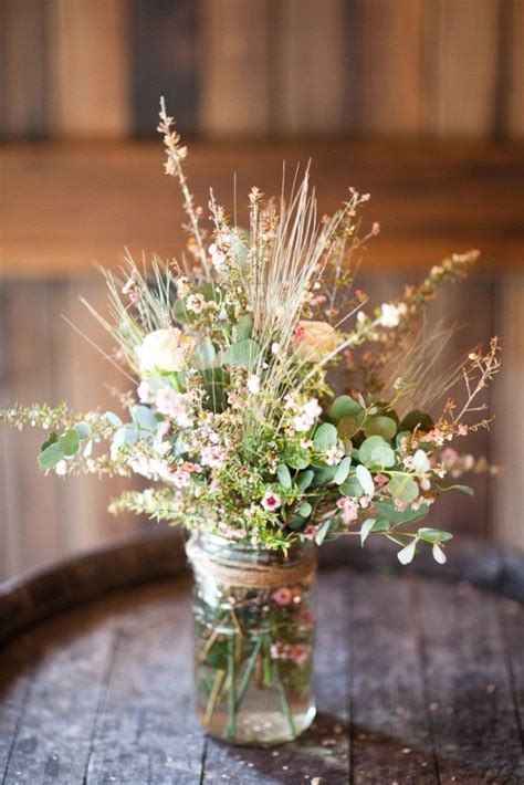 Ideas For Wedding Flowers by Best 25 Wildflower Centerpieces Ideas On