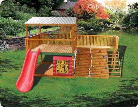 Safari Pak Cubby Fort Playground Equipment