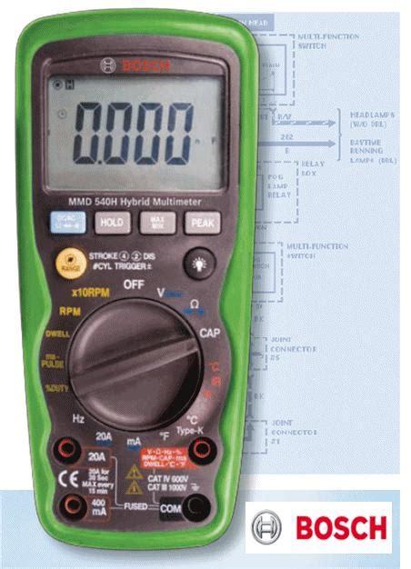 Multimeter Hybrid bosch hybrid vehicle multimeter mmd 540h f00e900101