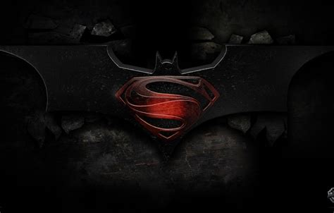 Batman Vs Superman Emblem Iphone All Semua Hp wallpaper dc comics batman vs superman batman superman