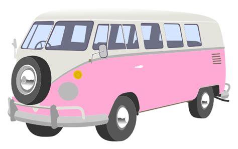 van volkswagen pink pink cer van clip art at clker com vector clip art