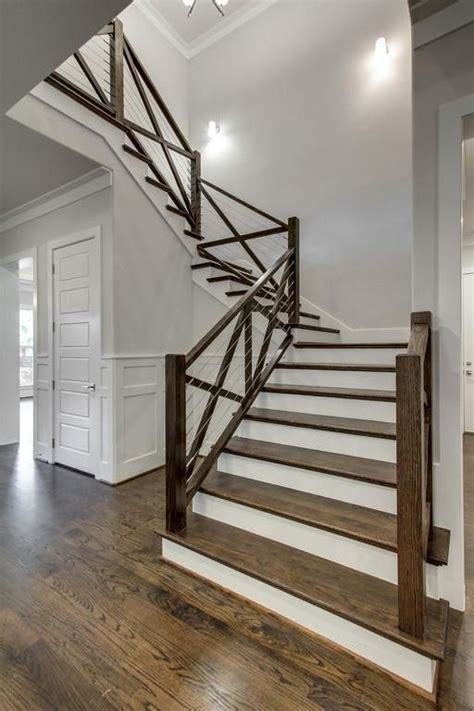 25 best ideas about stair 25 best ideas about farmhouse stairs on modern